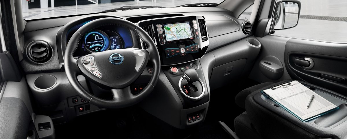interieur Nissan e-NV200