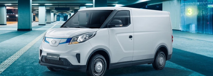 De Maxus eDeliver 3 Lease
