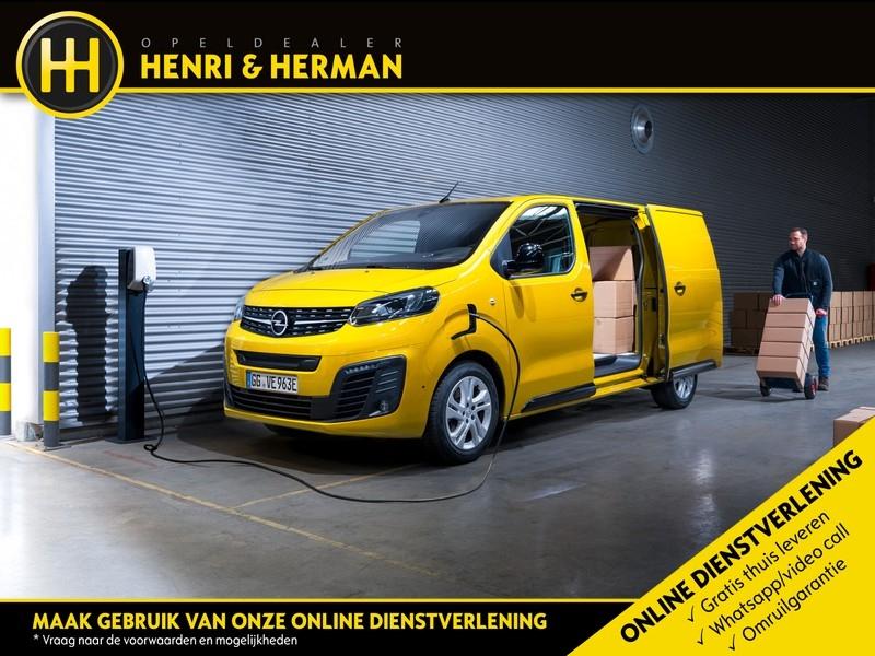 Opel Vivaro L1H1 Edition 50kWh Lithium-Ion Batterij NIEUW TE BESTELLEN  elektrisch