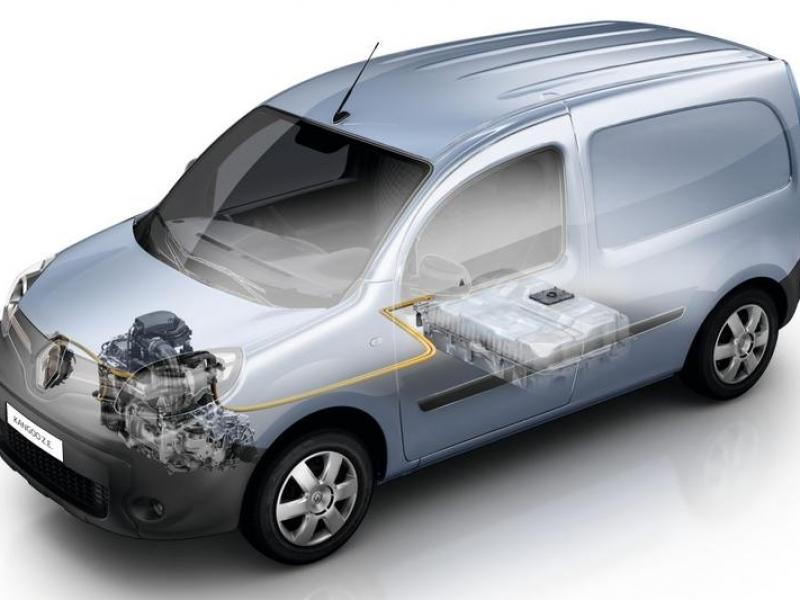 Renault Kangoo Z.E. 33kWh aut  elektrisch