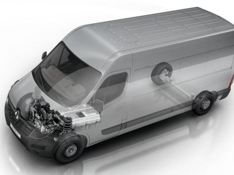 Renault Master 33kWh t31 l1h1 57kW aut  elektrisch