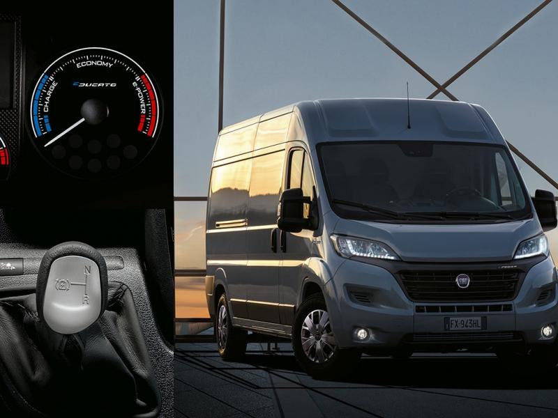 Fiat Ducato 47kWh l2h1 35 3450 90kW aut  elektrisch