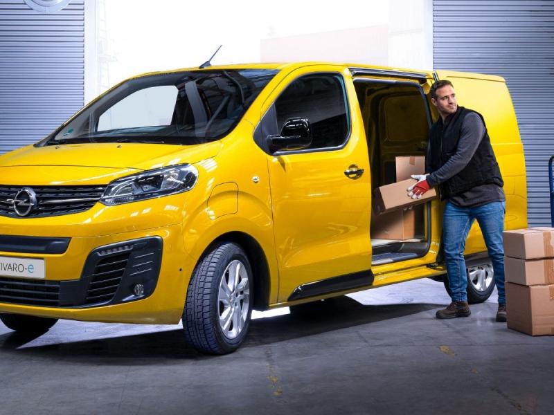 Opel Vivaro 50kWh l1h1 hl edition 100kW aut  elektrisch