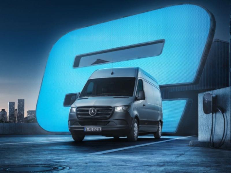 Mercedes-Benz Sprinter 35kWh l2 85kW aut  elektrisch