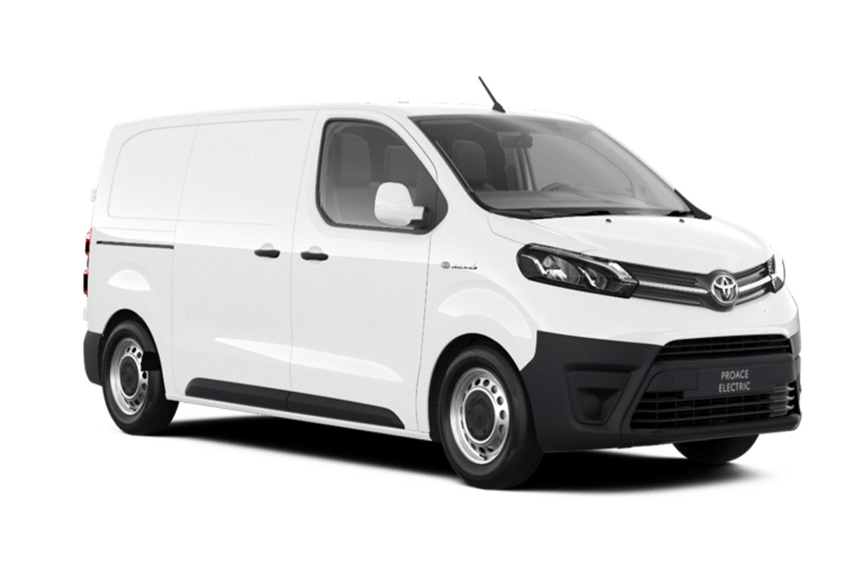 Toyota Proace Electric 50 kWh