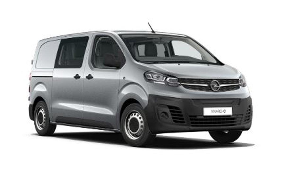 Opel Vivaro-e dubbele cabine 75 kWh