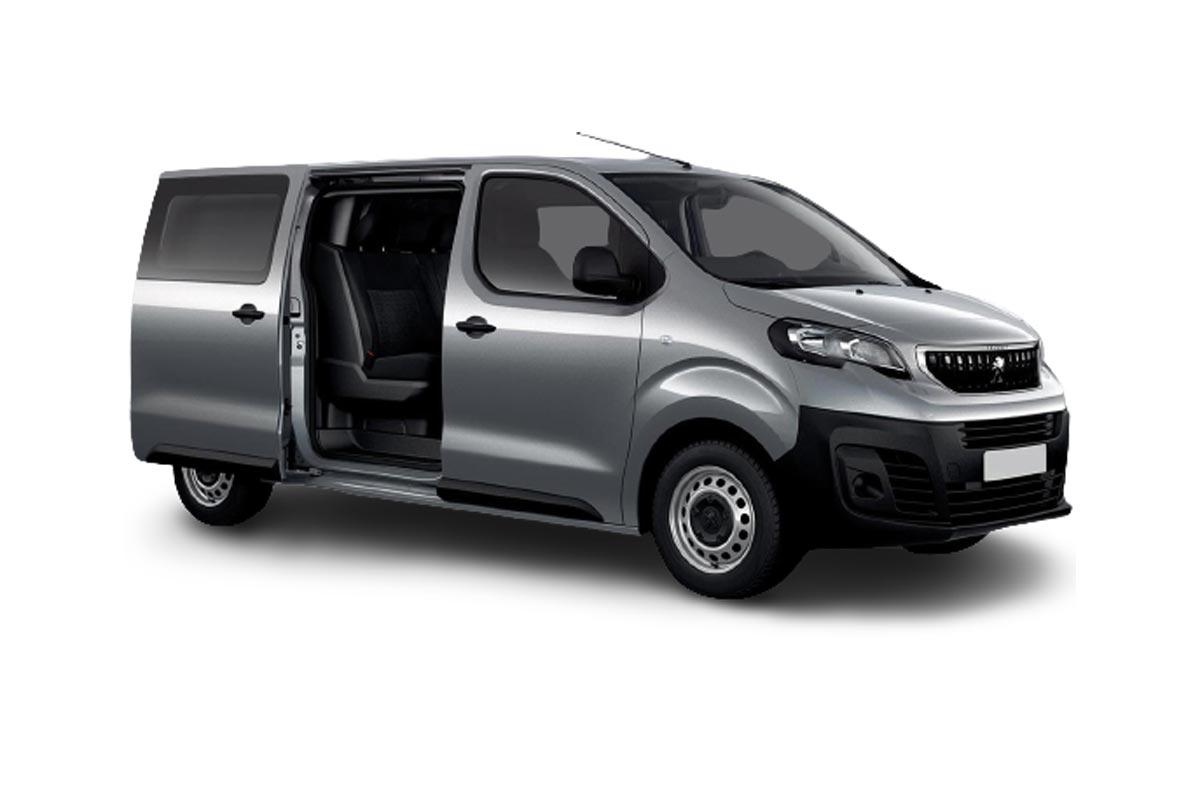 Peugeot e-Expert dubbele cabine 75 kWh